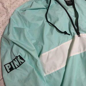 PINK Victoria's Secret Jackets & Coats - Victoria's Secret pink Anorak med-large